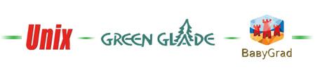 Батуты Unix, Green Glade, Baby Grad